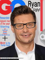 GQ Magazine Ryan Seacrest Downgraded by LilTATMAN