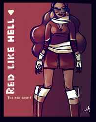 RED like HELL : red ghost 2018 ver by K-hermann
