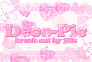 Deco Pic Brush Set by 3lie