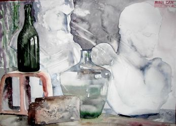 Still Life in Watercolor 2 by NiceMinD