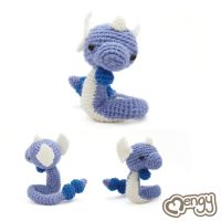 Dragonair Pokemon Amigurumi by mengymenagerie