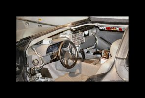 Back To The Future Inside The DeLorean by Lunapic