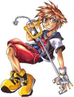 Sora, keeper of BIG SHOES by Demyrie