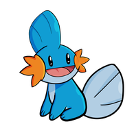 Mudkip by Bricus27