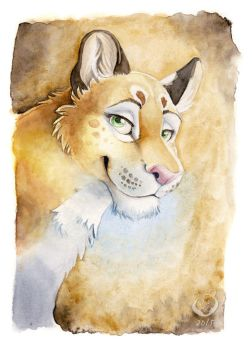 Doodley doo lioness by olvice