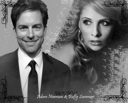 ~Adam Newman and Buffy Summers~ by TheElegantFaerie