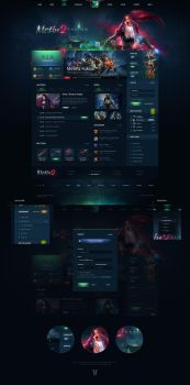 Metin2 Fusion Website Template by Templstock