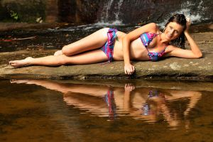 Shay - bikini reflected 1 by wildplaces
