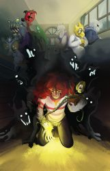 Dogs of Future Past - Part 1 Cover by LynxGriffin