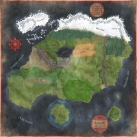 Continent of Ainor by Sapiento
