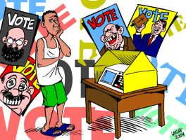 Brazilian elections by Latuff2