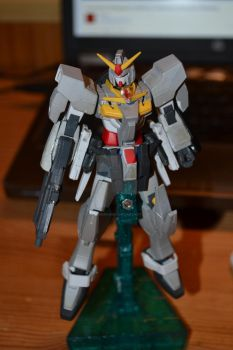 Oberon Gundam without the GN Binders by GundamDrawing