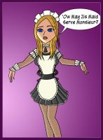 Hypnotized French Maid by LexLucas