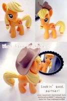 Show Accurate Applejack Hair by Shattered-Earth