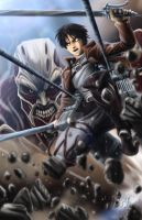 Attack On Titan by 1314