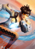 Tracer by ChrisN-Art