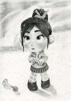 Vanellope - Go on... by artistsncoffeeshops