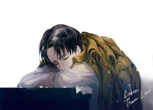 Sweet Dreams [Tired! Levi x Depressed! Reader] by StilemaWillow on