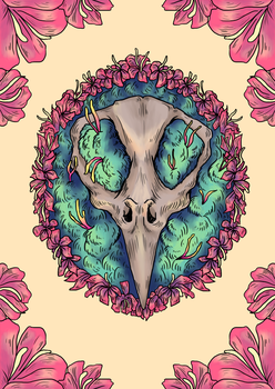 Mouse pelvis by PineapplesHaveFeet