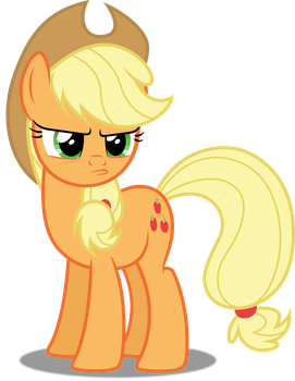 Vector #486 - Applejack #22 by DashieSparkle