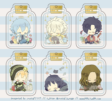 Bottled DMMd Necklaces by Yumicchie