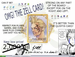 The Zell Card by acktacky