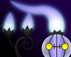 Chandelure by DemoraFairy