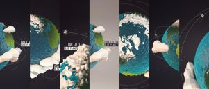 Our Little Blue Planet  Wallpaper Collection by eslib