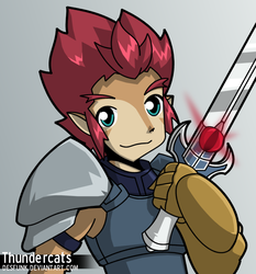 Thundercats 2011 - Lion-O by desfunk
