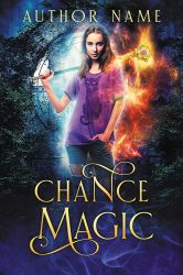 Chance Magic - premade book cover by LHarper