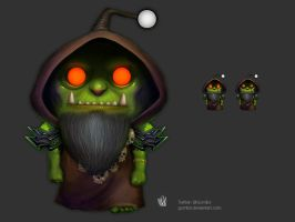 Reddit World of Warcraft Snoo contest entry by gomilol