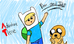 Finn and Jake by Riyana2
