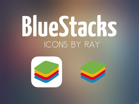 BlueStacks Concept Icons by Ray by Raiiy