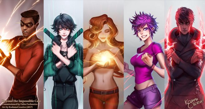 Beyond the Impossible Cast (Commission) by KodamaCreative