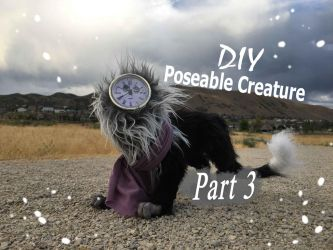 DIY Poseable Creature Part 3 by AstaraBriarart