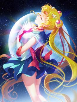 Sailor moon by moai87