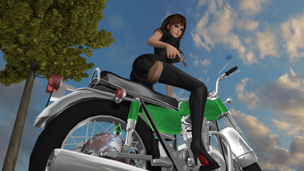 Lupin the third : 3d model for Poser #17 by freeReef