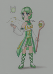 [Collab] The Magical Sage of The Forest by RareCandyCollector