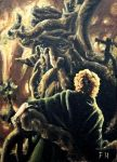 Treebeard and Pippin by FrankHeilerArt