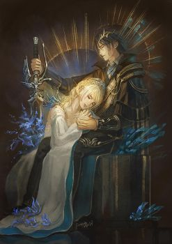 [FFXV]Noctis and Lunafreya by Athena-Erocith