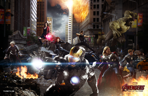 Avengers: Age of Ultron by tyler-wetta
