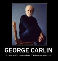George Carlin Motivational by Werewolfsbane