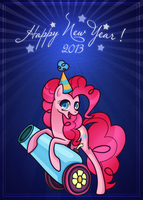 Happy New Year 2013 by Freakization