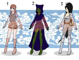 Adoptable: Extras: CLOSED by Biological-Solutions