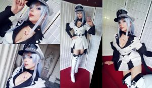 Esdeath - Akame ga Kill - selfies by Calssara