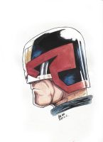 Dredd- more sketchbook by REDBAZ