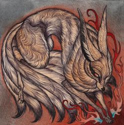 Nine Tails by CaitlinHackett