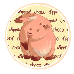 Choco Dipped Bunny by biffable