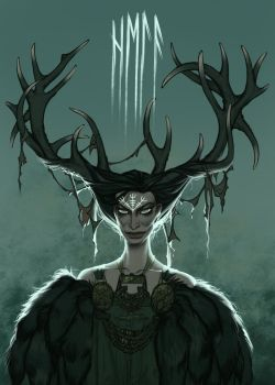 Hela by shoomlah