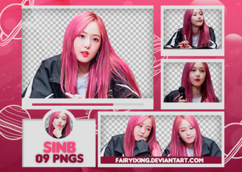 [PNG PACK #675] Sinb - GFriend (Fansign - 180507) by fairyixing